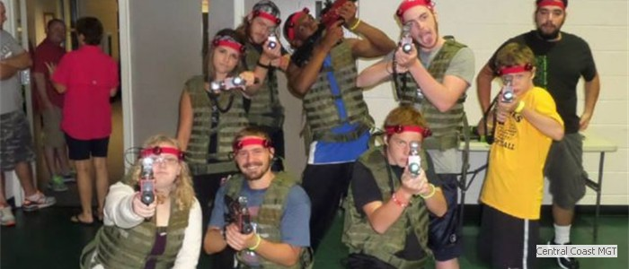 Big Kids love Laser Tag, too!